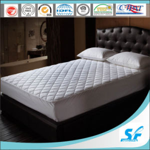 100%Cotton Pattern Quilting Mattress Protector with Skirt pictures & photos