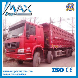 371HP Big Capacity Self Loading 8X4 12 Wheel 40 Ton Sand HOWO Dump Truck in Iran pictures & photos