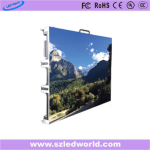 Sharp Indoor/outdoor digital curved rental display screen signs LED video wall panel tiles for stage hire China price with 640X640mm cabinet(P3,P4,P5,P6,P8,P10) pictures & photos