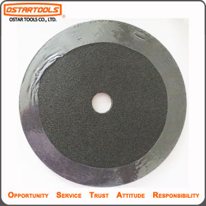 Aluminum Oxide Abrasive Fiber Metal Sanding Flap Disc for Polishing pictures & photos