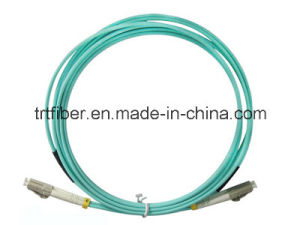 Om3 Duplex LC/LC Fiber Optic Cable/Fiber Jumper 10GB pictures & photos