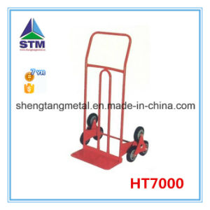 Heavy Duty Six Wheel Stair Climbing Hand Trolley (HT1426) pictures & photos