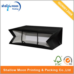 Classical Black Paper Bag for Shopping pictures & photos