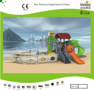 Kaiqi Small Pirate Ship Themed Children′s Playground (KQ9095A) pictures & photos