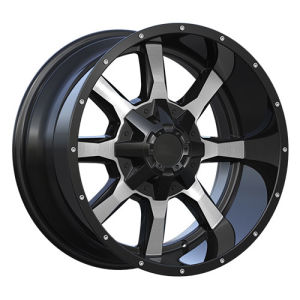 Deep Lip Alloy Wheels with Large Cap and Rivets pictures & photos