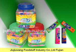 Jjw 50PCS Stick Sport Tattoo Bubble Gum in Jar pictures & photos