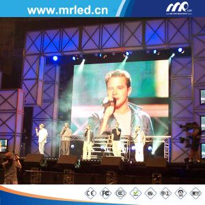 P6.25mm Full Color Perimeter LED Display Wall, Indoor LED Rental Display pictures & photos
