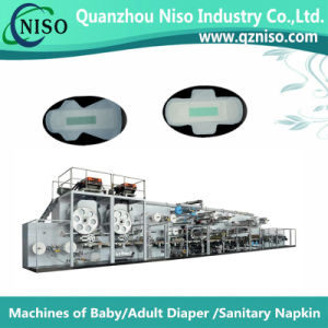 Stable Semi-Automatic Feminine Hygiene Pad Making Machine with Ce (HY400) pictures & photos