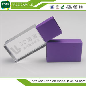Fashional 8GB Crytal USB Drive Flash Logo Printed 32GB (MT16) pictures & photos