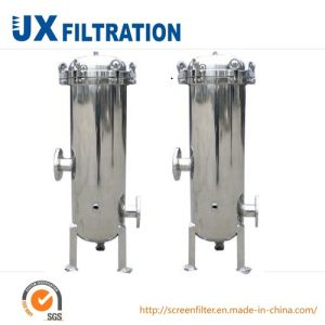 Precision Machined Stainless Steel Cartridge Filter Housing pictures & photos