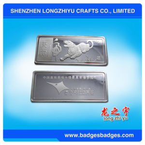 Wholesale Silver Plated Metal Coin for Collection pictures & photos