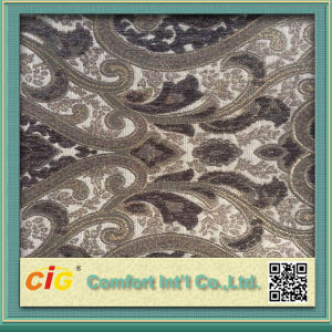 Jacquard Chenille Fabric for Sofa and Furniture Upholstery pictures & photos
