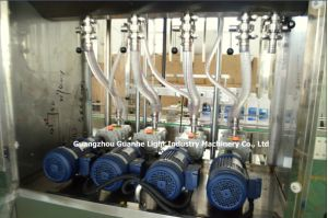 Factory Price Linear Liquid Bottling Machine with Rotor Pump Filling pictures & photos