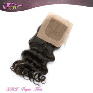 Fashionable Human Hair Silk Closures for Sale pictures & photos