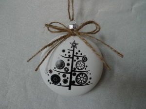 Xmas Glass Ball 2016 New Design Hotselling Item pictures & photos