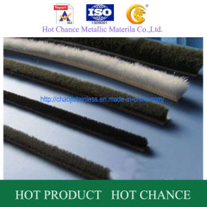 PP Adhesive Weather Strip/Wool Felt Sal Strp pictures & photos
