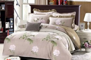 Fashion Flower Modern Duvet Cover /King Size Bedroom Sets/Quilted Quilt pictures & photos