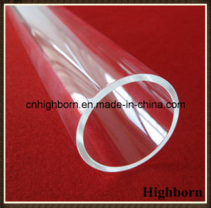 Clear Polish Fused Silica Quartz Glass Tube pictures & photos