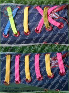 Flat Mini U Laces Smart Elastic Shoelace No Tie Laces pictures & photos