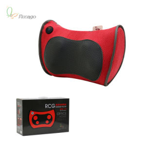 Shiatsu Massage Pillow Electric Heating Body Massager pictures & photos
