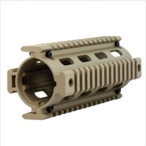"Carbine Length 6.7"" Handguard Picatinny Quad Rail - Tan pictures & photos"