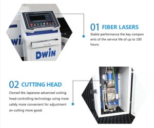 CNC Fiber Laser Metal Cutting Machine Price for 8-12mm Material pictures & photos