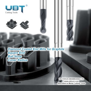 Wholesale Ball Nose End Mill for Graphite Milling