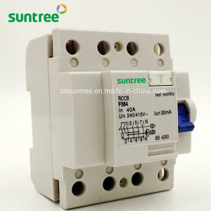 Residual Current Protective Circuit Breaker F360 pictures & photos