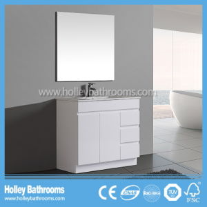 Australia Style High Ending Modern Bathroom Mirror Vanity Units with Side Cabinet (BC118V) pictures & photos