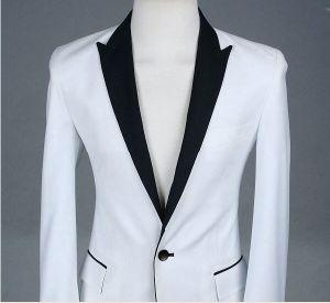 Unique Design Hot Slim Fit Business Men′s Tailored Suit pictures & photos