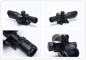 2.5-10x40 Airsoft Red Laser Sight Scope for Hunting & Shooting pictures & photos