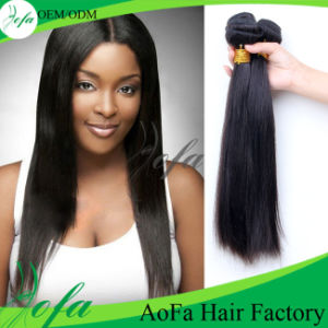 Various Straight Hair Length Human Hair Extension Malaysian Virgin Hair pictures & photos