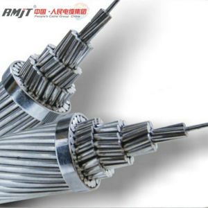 Overhead Bare Aluminum Conductor Steel Reinforced ACSR Conductor Cable pictures & photos