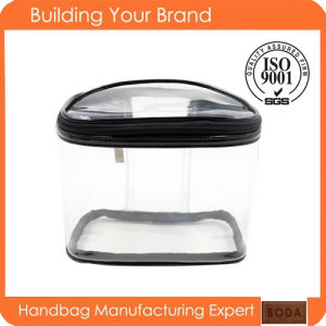 Travel Use Clear PVC Cosmetic Bags for Wholesale (BDX-171117) pictures & photos