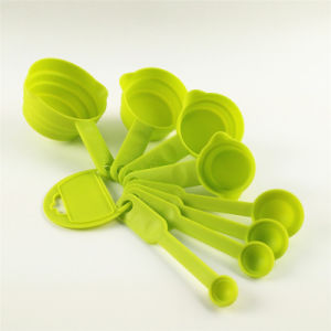8 PCS of Plastic Measuring Spoon
