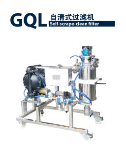Automatic Self-Clean Stainless Steel Mesh Pneumatic Pump Filter pictures & photos