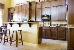 Dark Walnut Kitchen Cabinets (dw34) pictures & photos