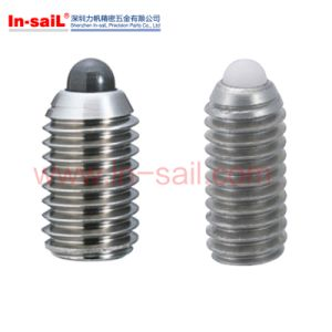 Wholesale Stainless Steel Grub Screw with Ball Bearing Insert Manufacturer pictures & photos