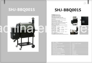 Ce Approved Hot Selling Charcoal BBQ Grill with Stainless Steel Cover (SHJ-BBQ001S) pictures & photos
