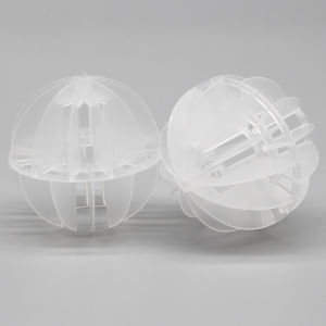 Plastic Polyhedral Hollow Ball Packing pictures & photos
