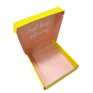 Custom Small Paper Packaging Box for Face Mask pictures & photos
