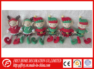 Soft Gift of Plush Elf Toy for Chritmas pictures & photos