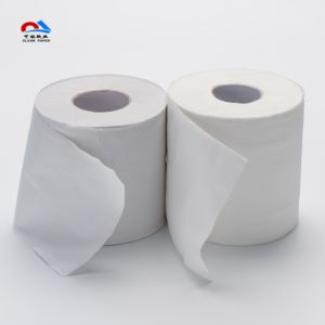 White Recycle Pulp Toilet Roll Tissue Paper pictures & photos