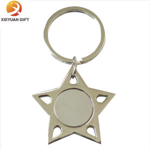 Star Shape Keychain Minion 3D with Keyring pictures & photos