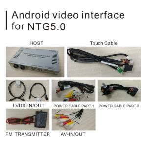 Car Video Interface for Mercedes Benz Ntg 5.0 a B C E Glc Gle Gla Class, Android Navigation Rear and 360 Panorama Optional pictures & photos