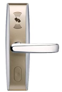 Zkteco RFID 13.56MHz Card Function with Back-up Key Hotel Lock (LH4000) pictures & photos