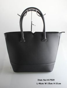 2017 Women Fashion Handbag High Quality PU Tote Bag (h13303) pictures & photos