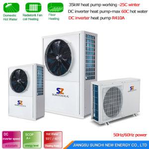 Heating Room 10kw/15kw/20kw/25kw Brine Water Source DC Inverter Heat Pump pictures & photos