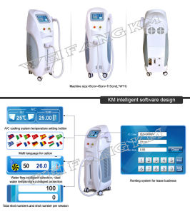 808nm&1064nm&755nm 3 Wavlength Hair Removal Diode Laser Machine pictures & photos