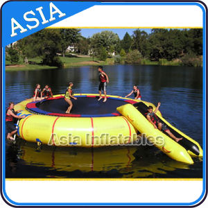 Inflatable Square Water Trampoline and Slide pictures & photos